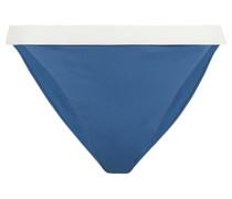 Leila Halbhohes Zweifarbiges Bikini-höschen