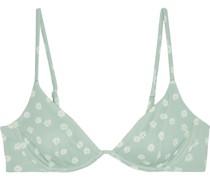 Liana Bikini-oberteil mit Bügel und Floralem Print