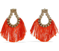 Livigno Gold-tone Cord Earrings