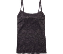 Woman Never Say Never Sassie Stretch-leavers Lace Camisole Grape