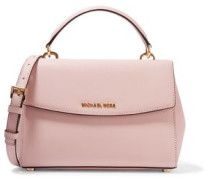 Ava extra small textured-leather shoulder bag