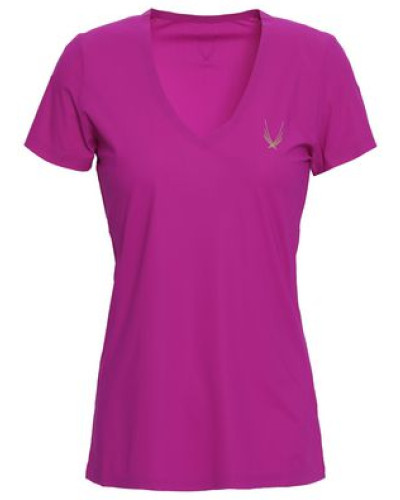 Core Performance Tech-jersey T-shirt Magenta