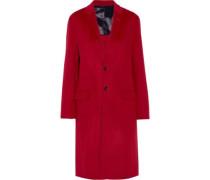 Caversham wool and cashmere-blend felt coat