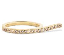 Logan Gold-tone Crystal Ring