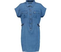 Kayden Chambray Mini Dress Mittelblauer Denim