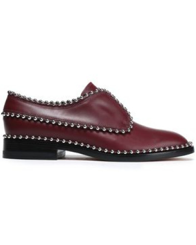 Alexander Wang Damen Wendie studded leather brogues