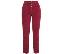 Gaemy Cotton-blend Corduroy Slim-leg Pants
