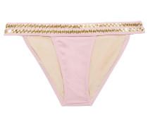 17 Banded Studded Low-rise Bikini Briefs
