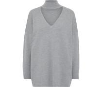 Alcott Cutout Knitted Turtleneck Sweater
