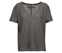 Stretch-jersey T-shirt Anthrazit