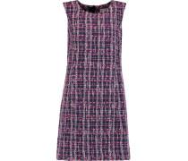 Tweed Mini Dress Knallpink