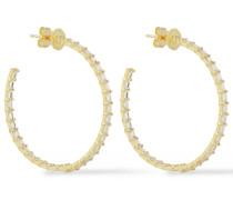 18-karat  Sapphire Hoop Earrings