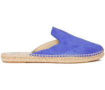Hamptons Suede Espadrille Slippers