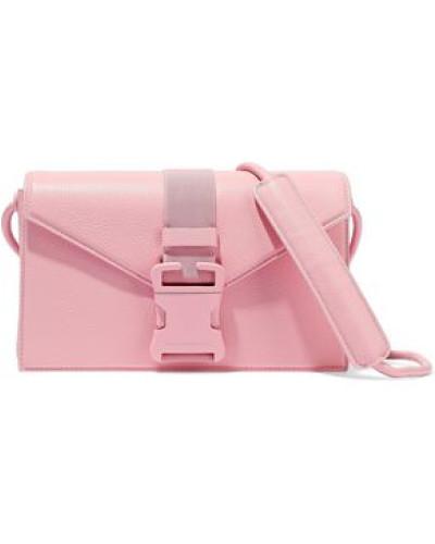 Devine Pebbled-leather Shoulder Bag Baby Pink Size --