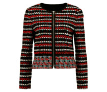 Cotton And Wool-blend Tweed Jacket Rot