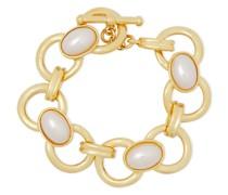 -tone Faux Pearl Bracelet