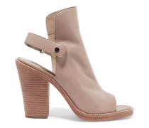 Whalen Leather Sandals Beige