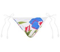 Iris Tief Sitzendes Bikini-höschen mit Floralem Print