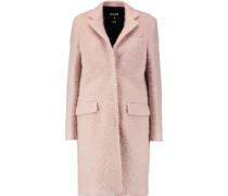 Wool-blend Bouclé Coat Altrosa