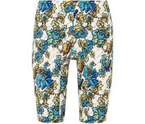 Bloomer Floral-print Jersey Shorts