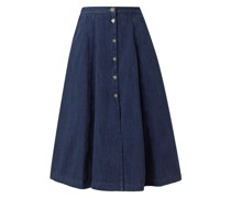 Calvary Denim Midi Skirt