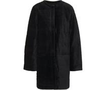 Jacke aus Samt aus Einer Gesteppten Baumwoll-modalmischung