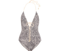 Cat Eyes Charlie Leopard-print Swimsuit Leoparden-Print