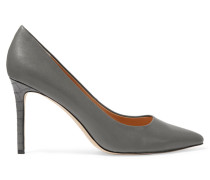 Courtney Leather Pumps Grau