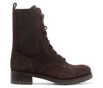 Broome Suede Boots Dunkelbraun