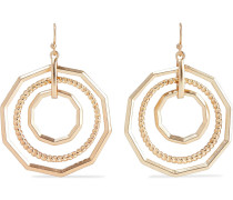 22-karat -plated Earrings