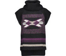 Navajo Intarsia-knit Turtleneck Sweater Mehrfarbig