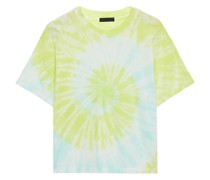 Tie-dyed Cotton-jersey T-shirt