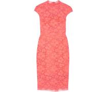 Corded Lace Dress Papaya
