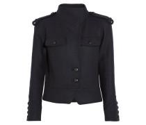 Kieffer Wool-blend Jacket Midnight blue