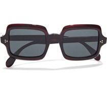 Avri Square-frame Acetate Sunglasses
