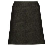Dolly Wool-blend Jacquard Mini Skirt Tannengrün