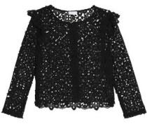 Macramé lace jacket