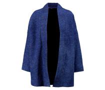 Metallic Knitted Cardigan Königsblau