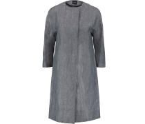 Ellinor Linen Coat Indigo