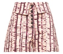 Kase Washed-denim Shorts