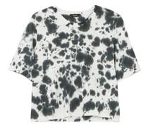 Motley T-shirt aus Biobaumwoll-jersey mit Batikmuster