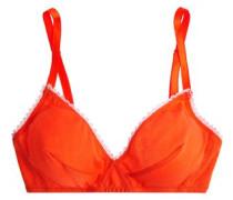 Antonia cotton-jersey soft-cup bra