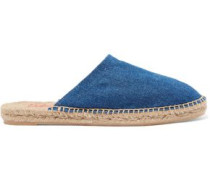 Kadla denim espadrille slippers