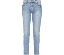 Josefina Mid-rise Slim-leg Jeans Heller Denim