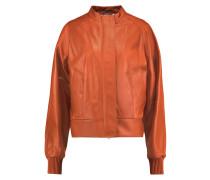 Leather Jacket Knallorange