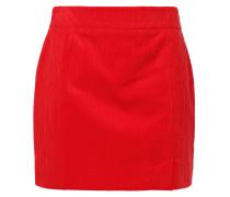 Cotton-corduroy Mini Skirt
