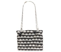 Chainmail And Leather Shoulder Bag