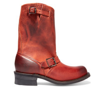 Engineer Distressed Eather Boots Ziegelrot