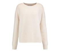 Waffle-knit wool and yak-blend sweater
