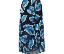 Lumi Printed Burnout Chiffon Wrap Skirt